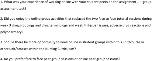 Peer learning a pedagogical approach to enhance online