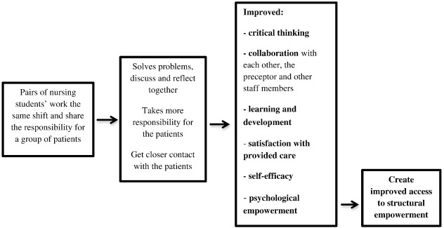 A peer learning intervention for nursing students in clinical