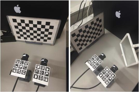 Camera Calibration Checkerboard Size