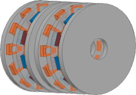 A new axial flux permanent magnet synchronous alternator
