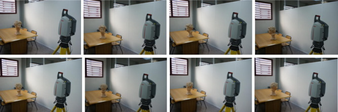 3D modeling by means of videogrammetry and laser scanners for