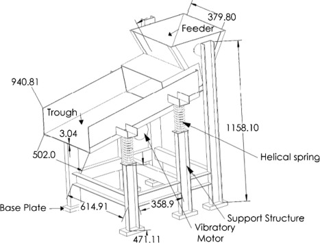 Dynamic Analysis Of Vibratory Feeder And Their Effect On Feed