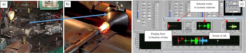 Possibilities of application measurement techniques in hot die