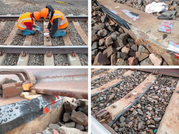 Quantification of concrete railway sleeper bending moments using