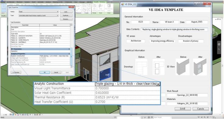 BIM-based idea bank for managing value engineering ideas