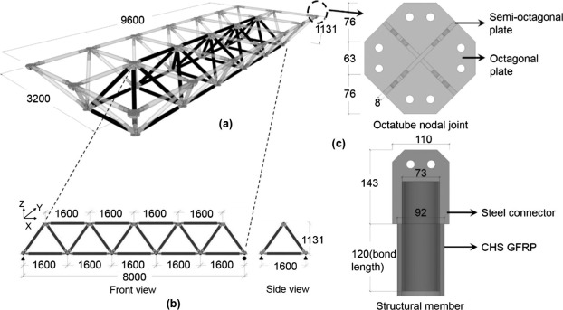 Dynamic and fatigue performances of a large-scale space frame ...