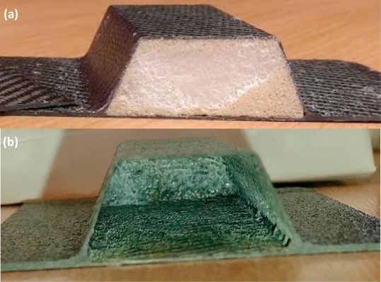 A water-soluble core material for manufacturing hollow