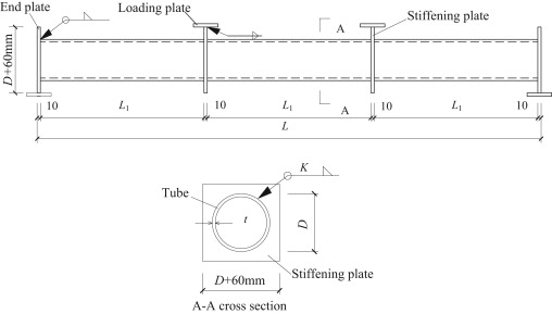 Behavior of thin-walled circular hollow section tubes