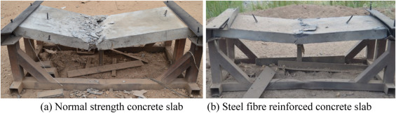 Comparative evaluation of steel wire mesh, steel fibre and high