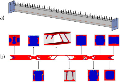 Application of structural topology optimisation in aluminium