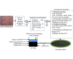Production And Performance Of Activated Carbon From Rice Husks For