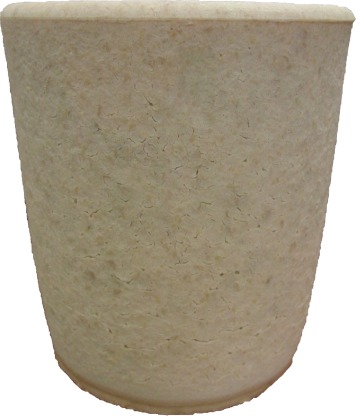 Refractory castables for titanium metallurgy based on