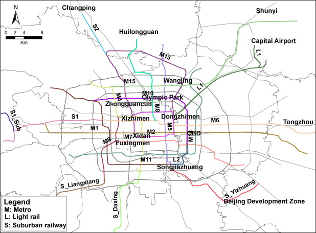 Beijing sciencedirect metro system in beijing present and planned for 2015 malvernweather Image collections