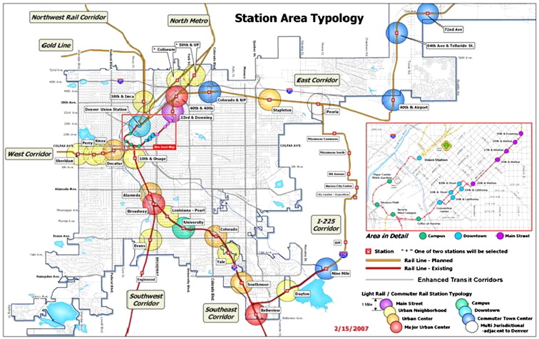 The reshaping of land use and urban form in denver through transit download full size image malvernweather Choice Image