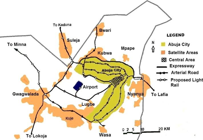 Abuja City Map