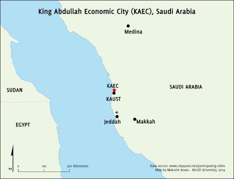 King Abdullah Economic City: Engineering Saudi Arabia's post-oil