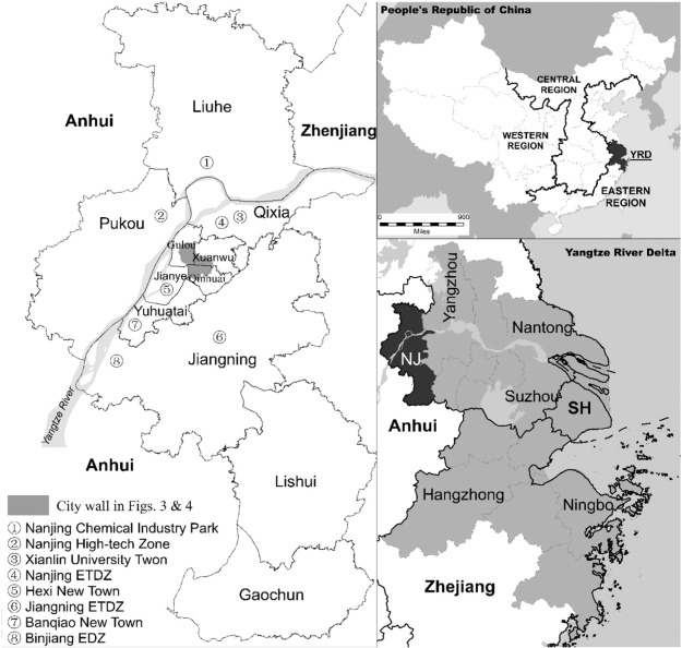 Nanjing an ancient city rising in transitional china sciencedirect location and spatial organization of nanjing china note nanjing etdz nanjing economic and technological development zone jiangning etdz jiangning gumiabroncs Image collections