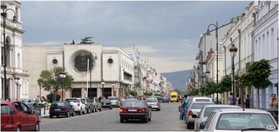 David Agmashenebeli Avenue after reconstruction