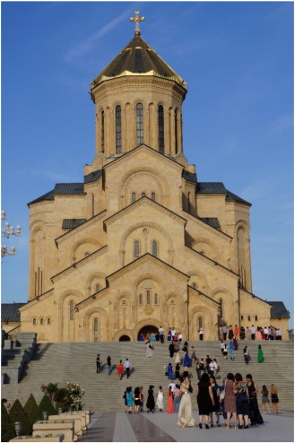 The Trinity Cathedral (built in 2004)