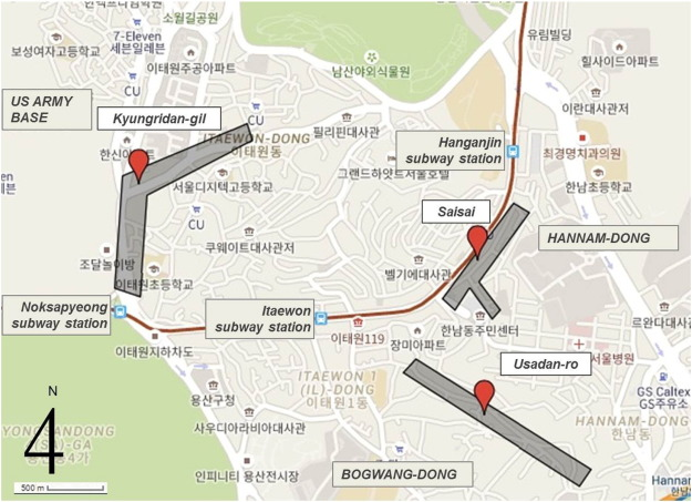 Cultural entrepreneurs and urban regeneration in Itaewon Seoul