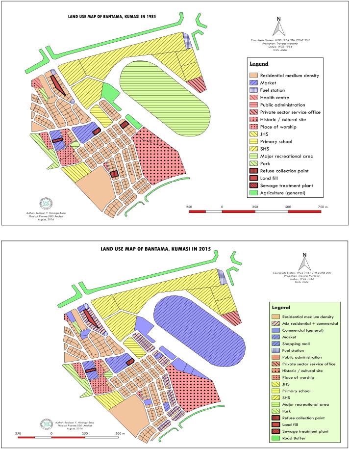 Urbanisation in Ghana: Residential land use under siege in