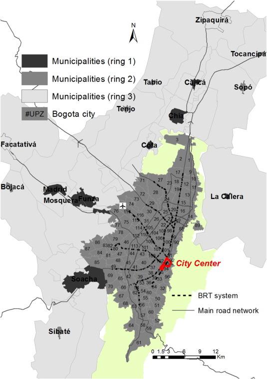City Profile The Bogotá Metropolitan Area That Never Was - Where is bogota