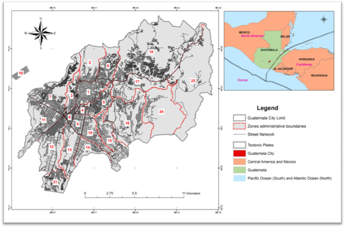 Guatemala city a socio ecological profile sciencedirect 2 the landscape context and the population of gc gumiabroncs