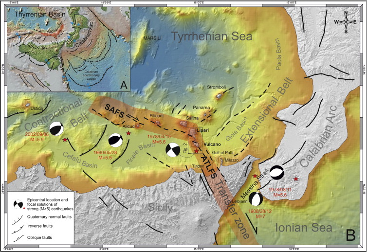New insights in the geodynamics of the LipariVulcano area Aeolian