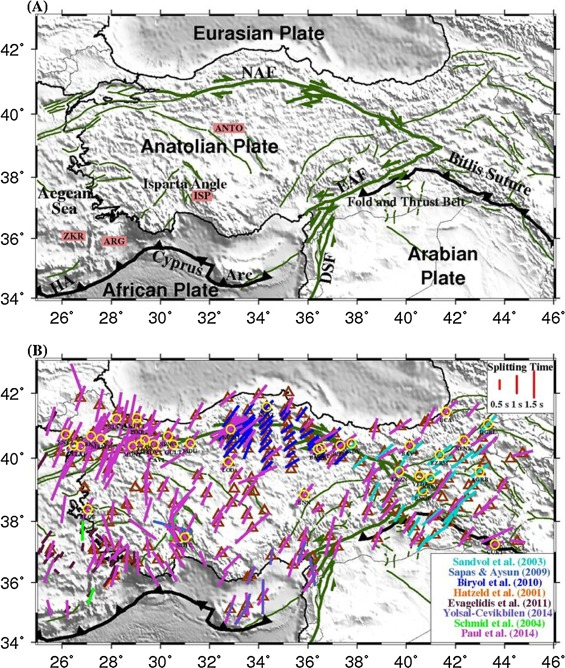 Complex seismic anisotropy and mantle dynamics beneath
