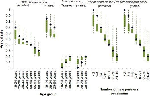 The predicted impact of HPV vaccination on male infections