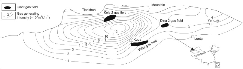 Geology Of Giant Gas Fields In China