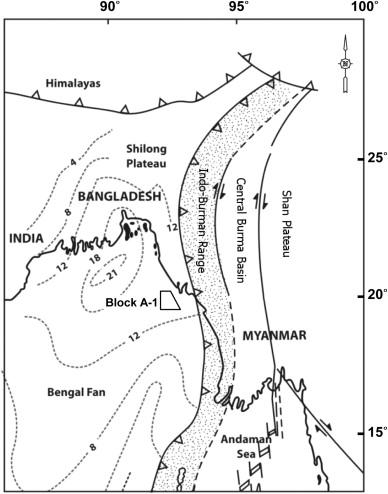 Pliocene Basin Floor Fan Sedimentation In The Bay Of Bengal