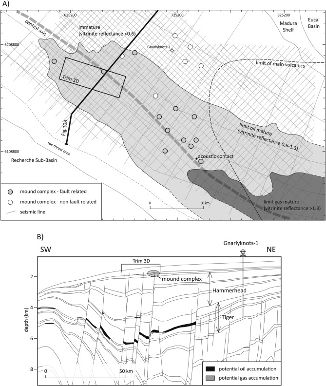 Fault Related Biogenic Mounds In The Ceduna Sub Basin Australia