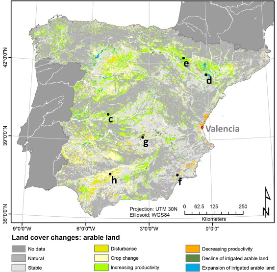 Mapping syndromes of land change in Spain with remote ... on land use maps usa, land use map germany, land use map england, land use map greece, land use map mexico, land use map france, land use map europe, landmark of spain, table of contents of spain, housing of spain,