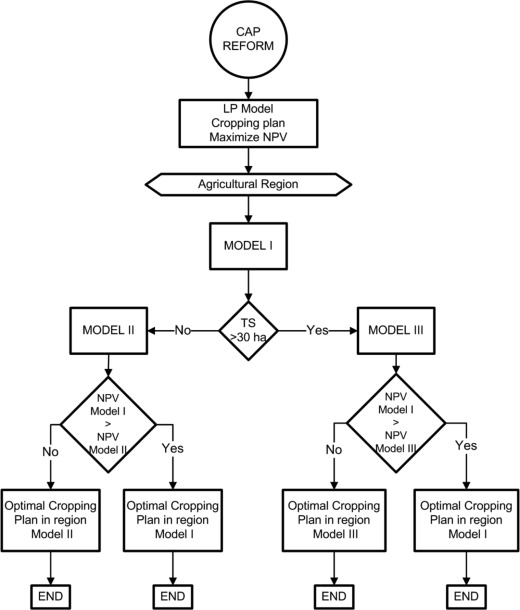 Multi stage linear programming model for optimizing cropping plan flow chart of the decision making process to determine the farmers optimal cropping plan during the cap reform horizon ccuart Image collections
