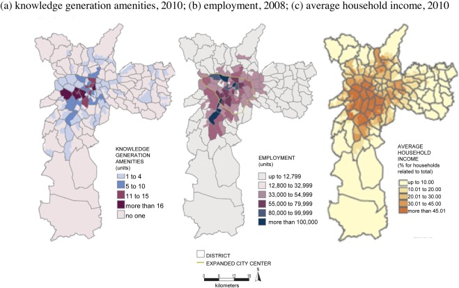 ZEIS maps Comparing areas to be earmarked exclusively for social