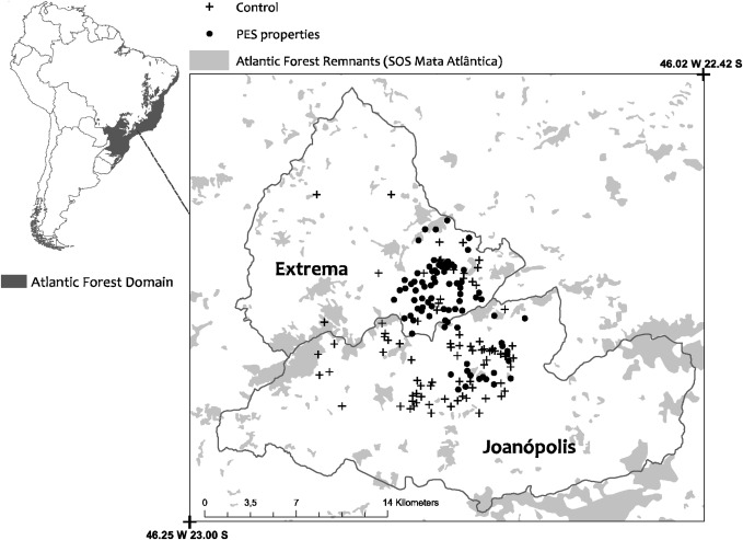 Payment for ecosystem services programs in the Brazilian