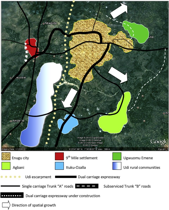 Conceptualizing urban space (environment) for the delivery