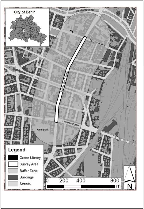 Economic valuation of street-level urban greening: A case