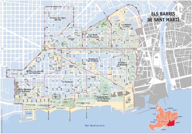 From Ribera Plan To Diagonal Mar Passing Through 1992 Vila Olimpica How Urban Renewal Took Place As Urban Regeneration In Poblenou District Barcelona Sciencedirect