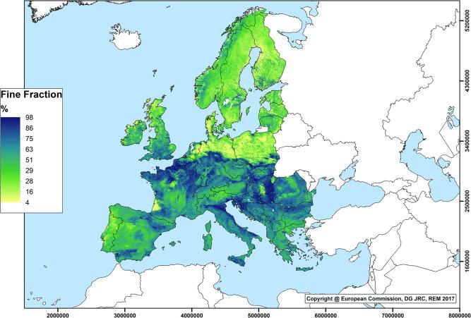 Digital version of the European Atlas of natural radiation ...