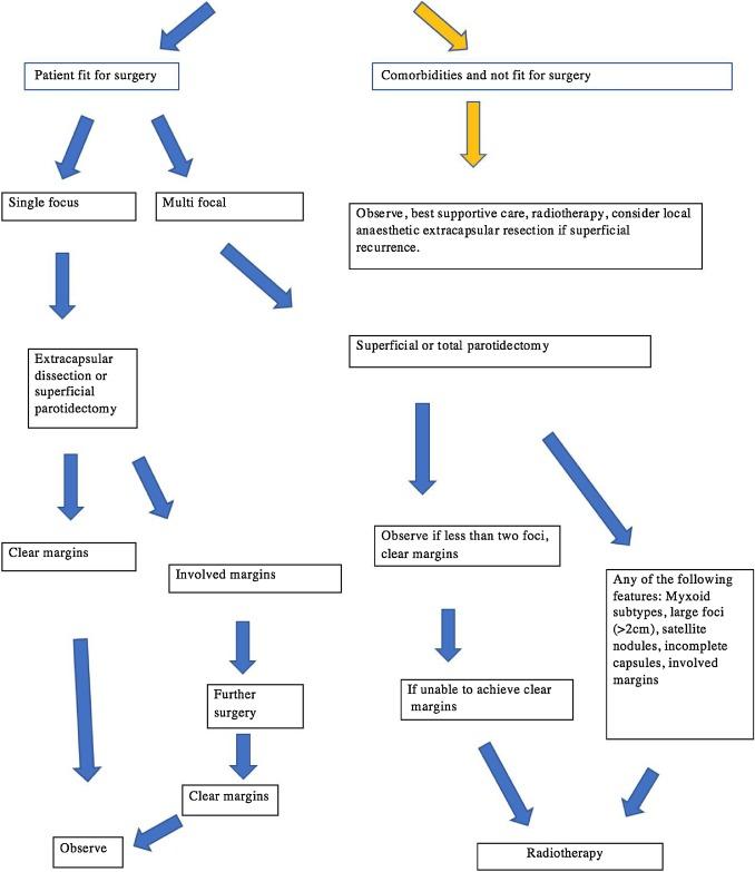 pleomorphic adenoma treatment