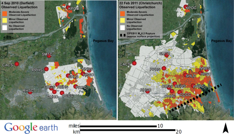 Evaluating nonlinear effective stress site response analyses using observed liquefaction maps for the 4 sep 10 and 22 feb 11 events 10 gumiabroncs Images