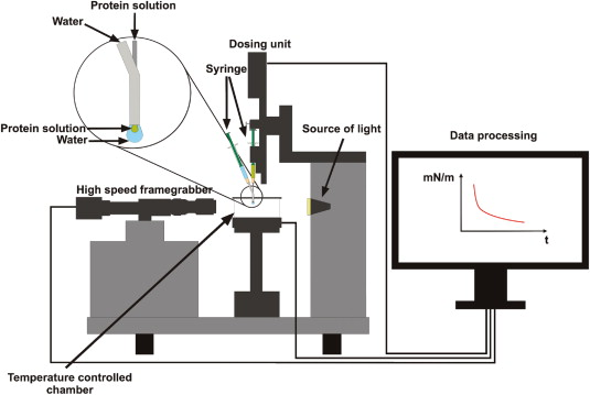 Pendant drop tensiometry for the evaluation of the foaming pendant drop tensiometer with modified dosing system as described by drusch et al in press mozeypictures Images