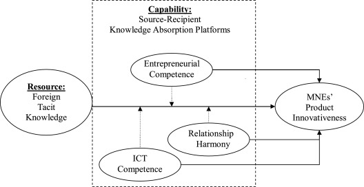 Foreign tacit knowledge and a capabilities perspective on