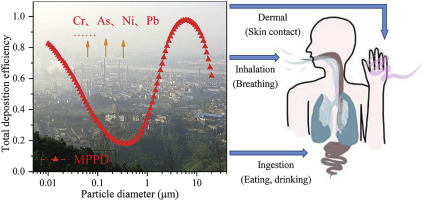 Atmospheric size-resolved trace elements in a city affected by non