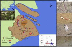 Microplastic and mesoplastic pollution in farmland soils in suburbs