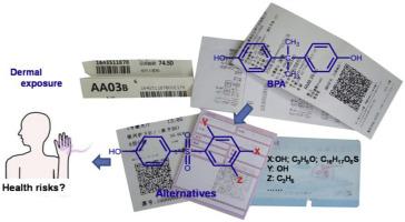Resultado de imagen de bisphenol A ticket
