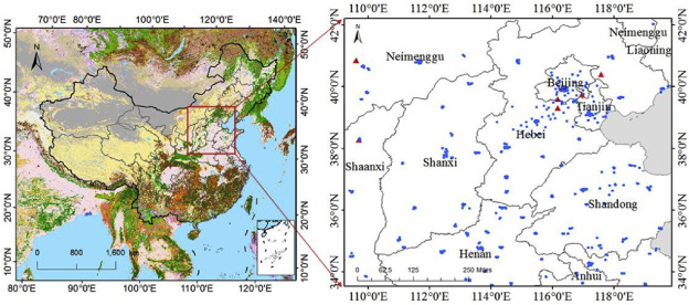 Long Term 2006 2015 Variations And Relations Of Multiple Atmospheric Pollutants Based On Multi Remote Sensing Data Over The North China Plain Sciencedirect