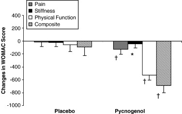Pycnogenol Supplementation Reduces Pain And Stiffness And Improves